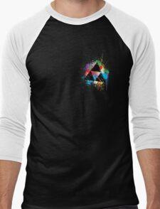Triforce Paint Men's Baseball ¾ T-Shirt