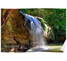 Serenity Falls - Buderim QLD Poster