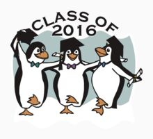 Graduation Penguins - Class of 2016 Kids Tee