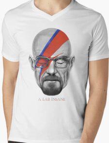 A Lab Insane Mens V-Neck T-Shirt