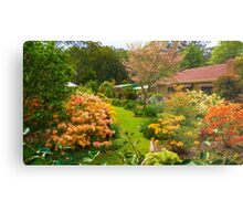 The Miracle Garden at King Parrot Metal Print