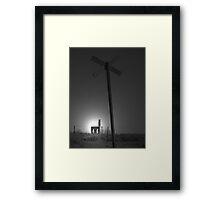 Desolate 2 Framed Print