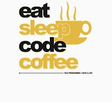 Programmer : eat, sleep, code, coffee Unisex T-Shirt