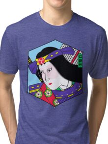 Heroes of the Ages: Tomoe Gozen Tri-blend T-Shirt