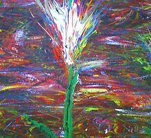 Twilight Tulip by Allan Maticic