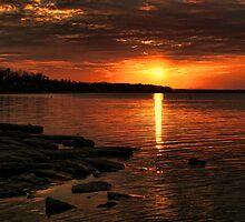 Extreme Sunset by Carolyn  Fletcher