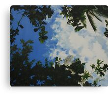 From my hammock Canvas Print