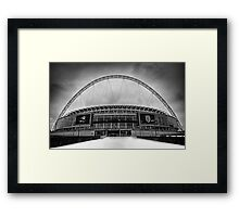 Wembley Stadium Framed Print