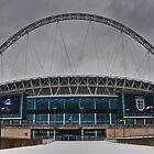 Wembley Stadium by Asif Patel