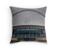 Wembley Stadium Throw Pillow