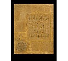 Sandstone Crosses Photographic Print