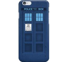 Pocket TARDIS *Revised! iPhone Case/Skin