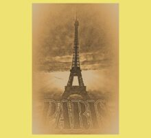 Vintage Eiffel Tower Paris #1 T-shirt Kids Tee