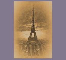 Vintage Eiffel Tower Paris #1 T-shirt Kids Clothes