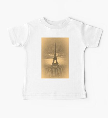 Vintage Eiffel Tower Paris #1 T-shirt Baby Tee