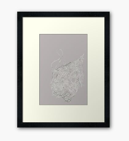 Psychedelic Raindrop  Framed Print