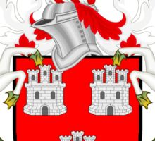 Newcastle upon Tyne coat of arms Sticker