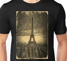 Vintage Eiffel Tower Paris #2 T-shirt Unisex T-Shirt