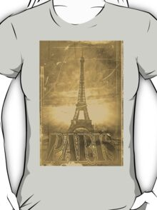 Vintage Eiffel Tower Paris #3 T-shirt T-Shirt
