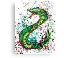 Mystical Snake Canvas Print