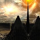 Star Temple Pyramid - Convergence by AlienVisitor