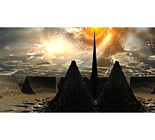 Star Temple Pyramid - Convergence Photographic Print
