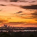 Dusk - Perth City by Leah Kennedy