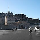 Edinburgh Castle by AmandaJanePhoto