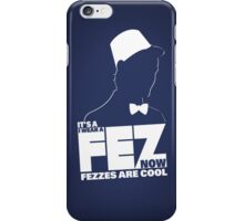 It's a fez. I wear a fez now. Fezzes are cool. iPhone Case/Skin