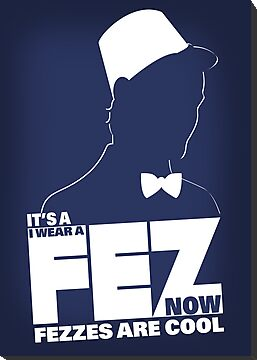 Fezzes are Poster Size by mcgani