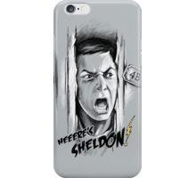 Here's Sheldon iPhone Case/Skin