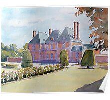 Chateau de Mesnil Geoffrey Poster