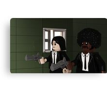 Brick Fiction Parody Variant 02 Canvas Print