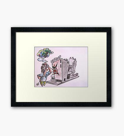 I remember Framed Print