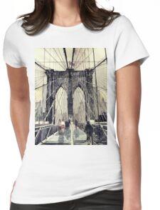 Brooklyn Bridge Womens Fitted T-Shirt