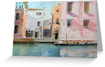 The Pink House by HurstPainters
