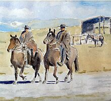 Gauchos by HurstPainters