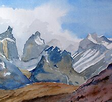 Torres del Paine - Chile by HurstPainters