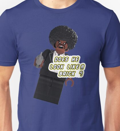 Brick Fiction Parody Variant 03 Unisex T-Shirt