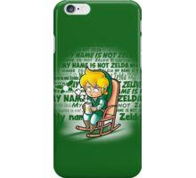 My name is not Zelda iPhone Case/Skin
