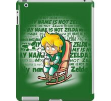 My name is not Zelda iPad Case/Skin