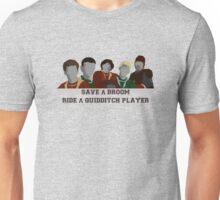 Save A Broom Unisex T-Shirt