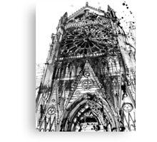 Notre Dame in Paris Canvas Print