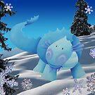 Ice dragon by Koekelijn