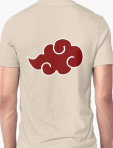 akatsuki red cloud logo T-Shirt