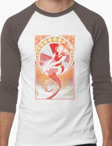 Resident Nouveau Men's Baseball ¾ T-Shirt