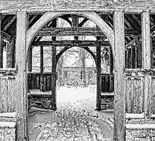 St Nicholas, Pluckley - Through The Lychgate by Dave Godden
