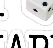 I Heart Snappa - Black Font Sticker