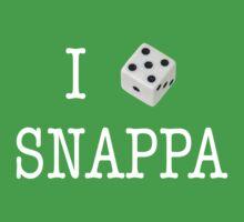 I Heart Snappa - White Font by SnappaStuff