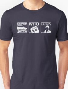 SuperWhoLock Horizontal T-Shirt